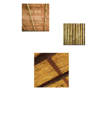 REED & BAMBOO CANE - ROOF COVERINGS AND DECORATIVE ITEMS