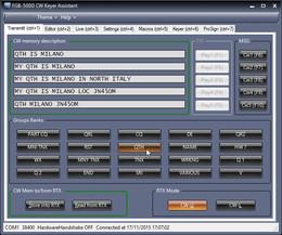 FGB5000 CW Keyer Assistant