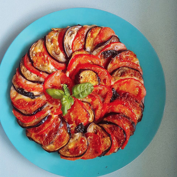 Girandola di verdure e mozzarella