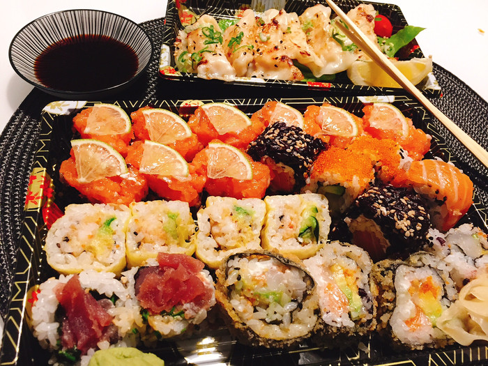 Sushi night... a casa