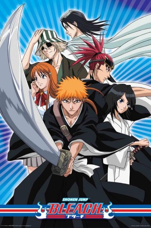 Bleach anime poster