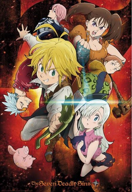 Seven Deadly Sins anime poster