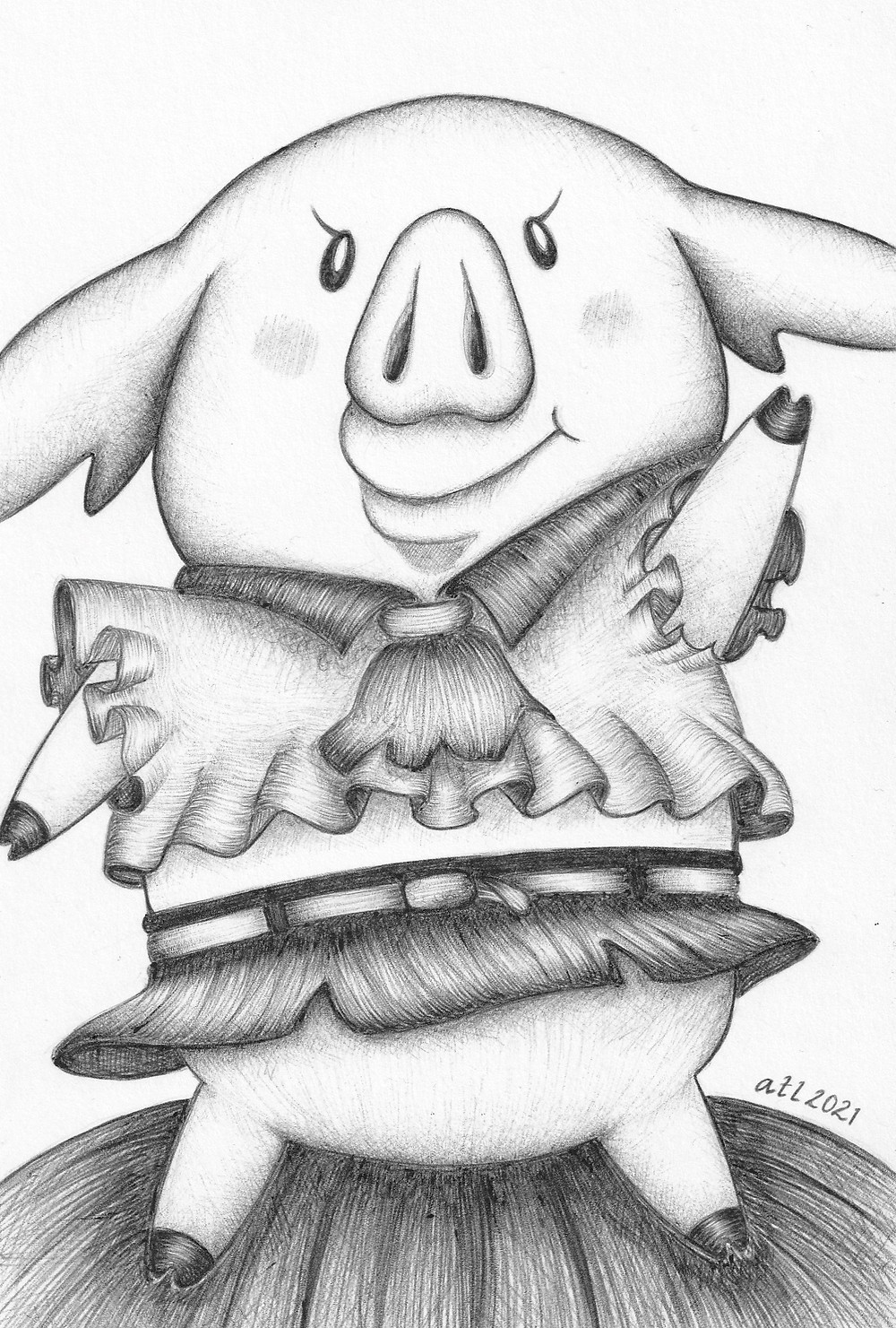 Anna Legaspi Art, annalegaspiart, annalegaspi, Hawk, Seven Deadly Sins, Biro art, Ballpen art, black and white, anime, drawing, sketch, art,
