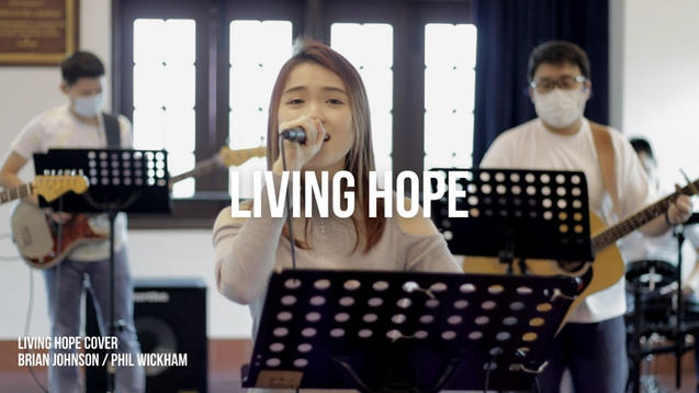 Living Hope - Brian Johnson, Phil Wickham - Cover