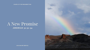 A New Promise: 21 March 2021