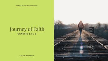 Journey of Faith: 2 - 3 January 2021