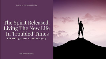 The Spirit Released: Living The New Life In Troubled Times: 12 - 13 June 2021