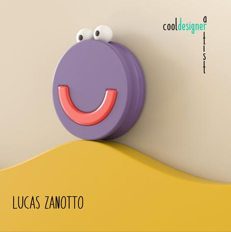 Lucas Zanotto. O artista dos incríveis loopings da vida.
