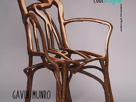 Gavin Munro. O Designer da Natureza.