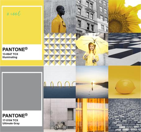 Ultimate Gray + Illuminating. A combinação mágica das cores Pantone para 2021.
