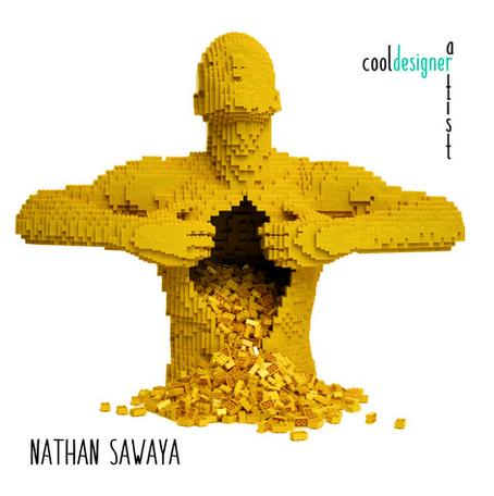 Nathan Sawaya. O cara que transformou Lego em Arte.