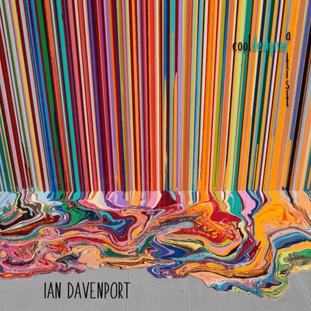 Ian Davenport. O artista das listras e cores que impressionam.
