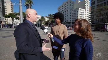 Mentor Wandy na Globo EPTV Programa Mais Caminhos com Edilaine Garcia