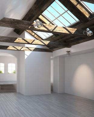 Fensterreinigung Sonderformen Dachfenster
