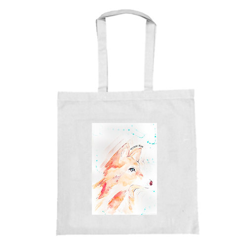 Trixie Fox Tote Bag - Large