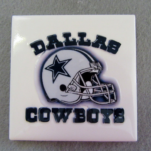 Dallas Cowboys Ceramic Tile