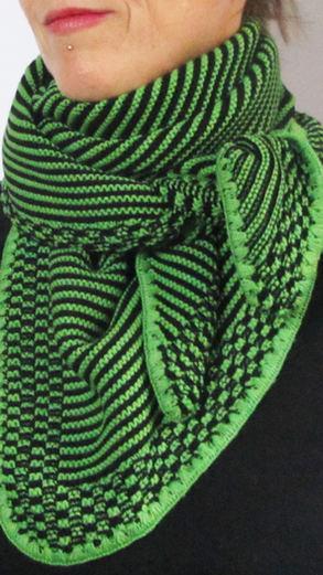 """Dreieck """"klein""""grün-schwarz"""