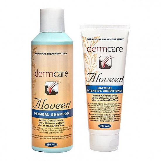 Aloveen Twin Pack Oatmeal Shampoo 250ml & Conditioner