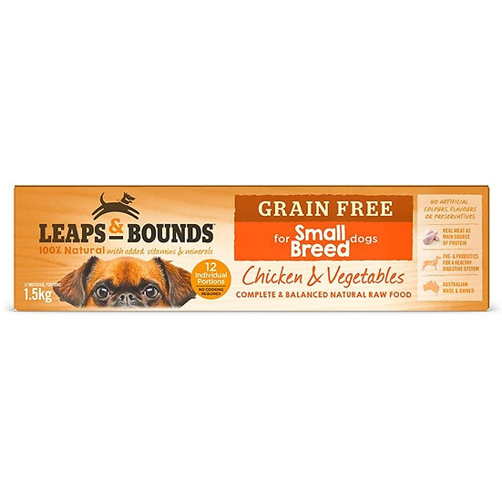 Leaps & Bounds Barf Chicken Small Breed Dog