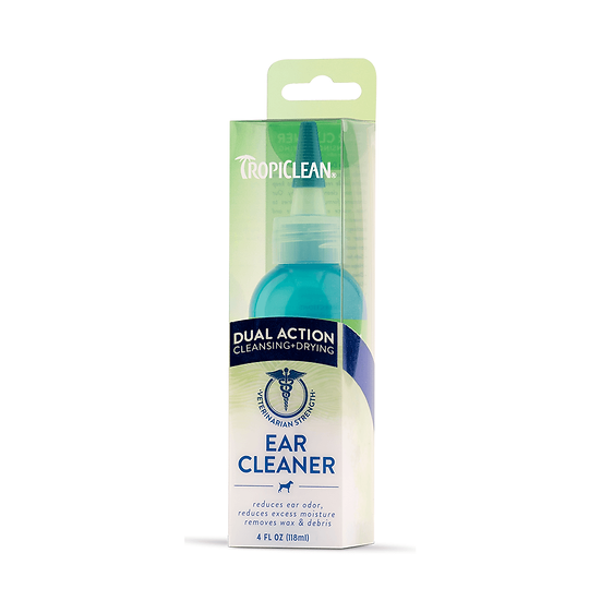 Tropliclean Dual Action Ear Cleaner