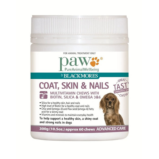 Paw Coat Skin And Nail Multivitamin Chews