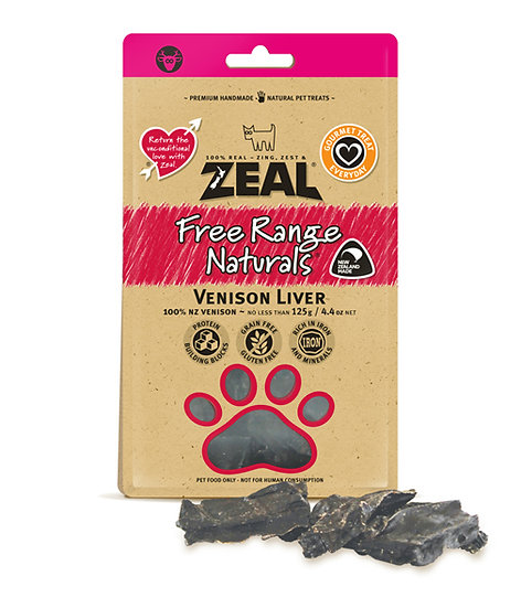 Zeal Free Range Naturals Venison Liver
