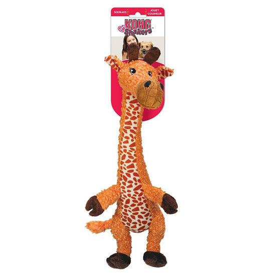 KONG Shakers Luvs Giraffe Plush Squeak