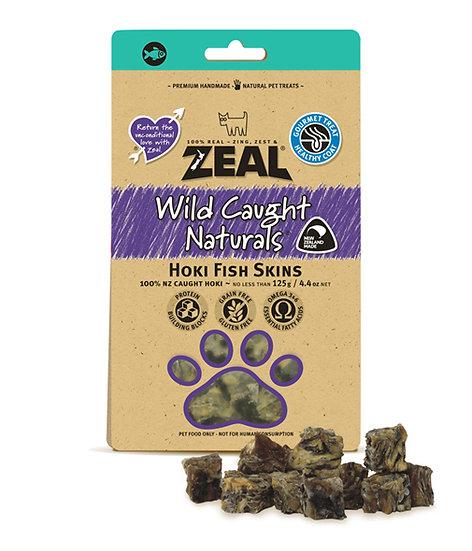 Zeal Free Range Natural Hoki Fish Skins