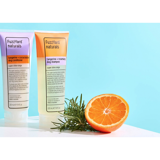 Tangerine + Rosemary Super Shine Dog Shampoo