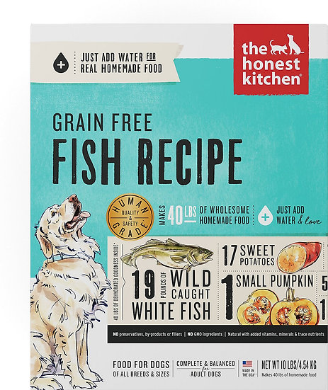 The Honest Kitchen Grain-Free Fish Recipe Dehydrated