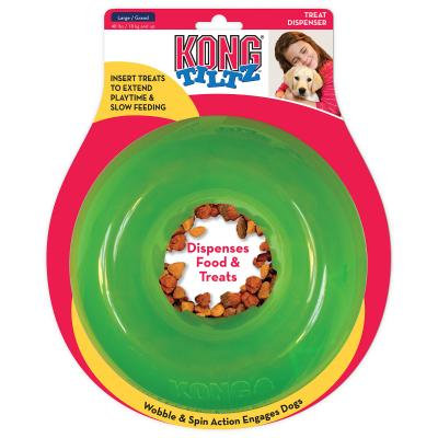 KONG Tiltz Food And Treat Dispensing Toy