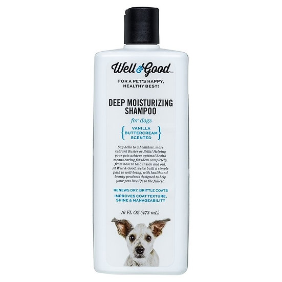 Well & Good Dog Deep Moisturizing Shampoo