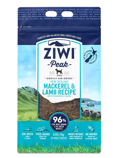 Ziwi Peak Dry Dog Food Mackerel & Lamb