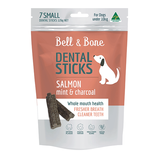 Bell and Bone Salmon Mint And Charcoal Dental