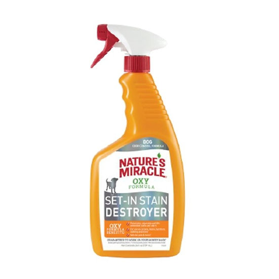 Natures Miracle Oxy Set In Dog Stain Destroyer Spray
