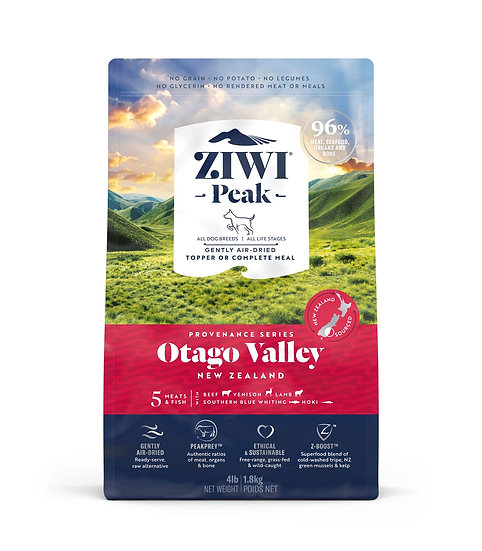 Ziwi Peak Air-Dried Otago Valley Recipe