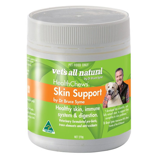 Vets All Natural Health Chews Skin Support