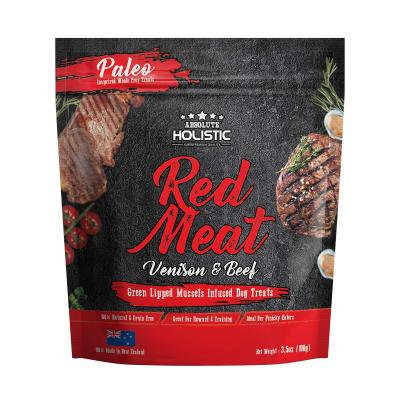 Air Dried Dog Treats Red Meat Beef And Vension