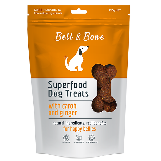 Bell and Bone Carob And Ginger Superfood
