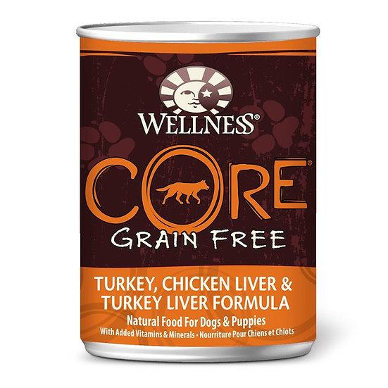 Wellness Core Turkey Chicken Liver & Turkey Liver