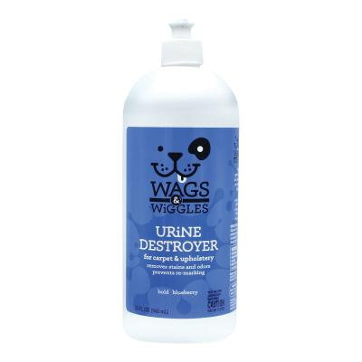 Wags & Wiggles Urine Destroyer For Carpet And Upholstery Blueberry