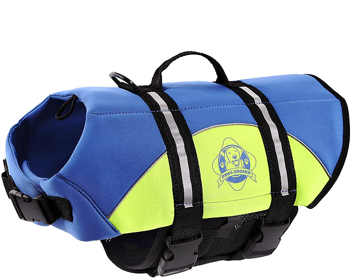 Neoprene Dog Life Vest for Swimming and Boating