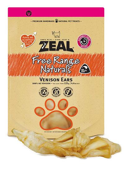 Zeal Free Range Naturals Venison Ears