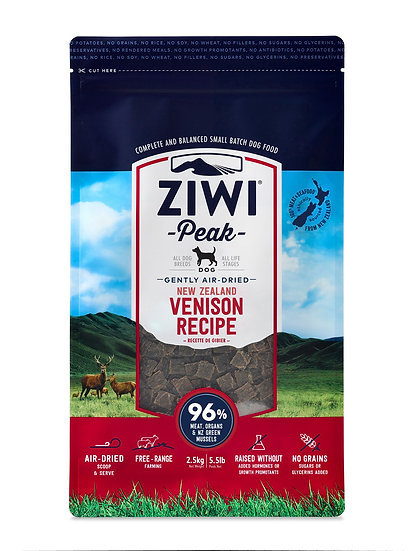 Ziwi Peak Dry Dog Food Venison