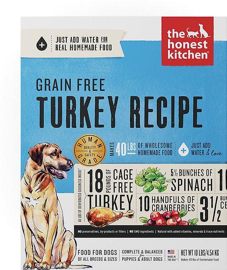 The Honest Kitchen Grain-Free Turkey Recipe Dehydrated