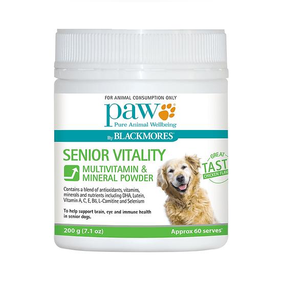 PAW Blackmores Senior Vitality Powder