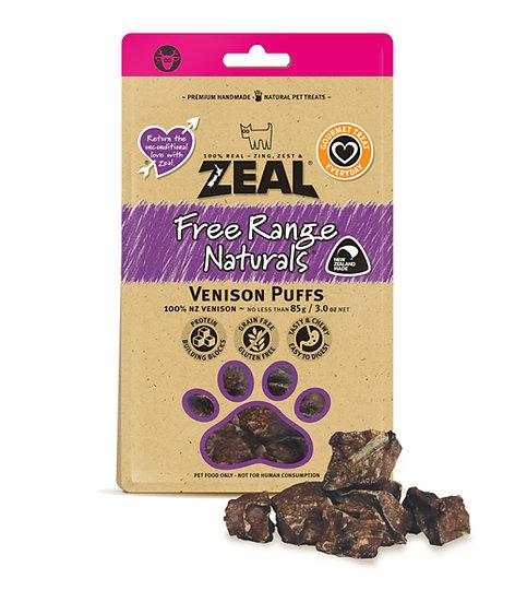 Zeal Free Range Naturals Venison Puff