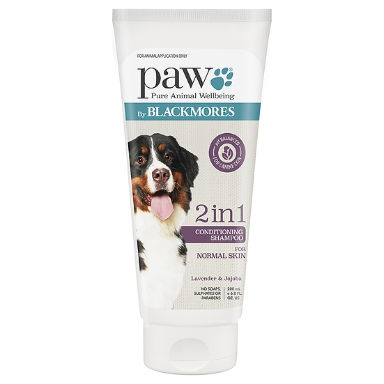 PAW Blackmores 2 In 1 Conditioning Shampoo