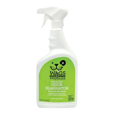 Wags & Wiggles Time Release Odour Eliminator All Surface Spray Lemon Lime