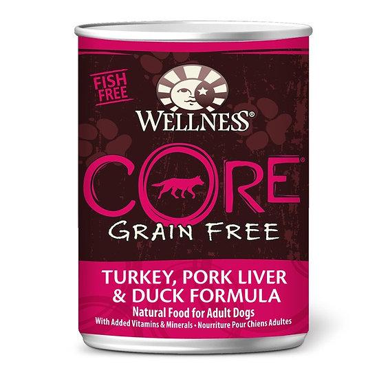 Wellness Core Turkey Pork Liver & Duck